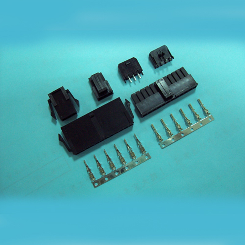 3.0mm pitch Wire to Wire Connectors - Housing and Terminal - Single Row
