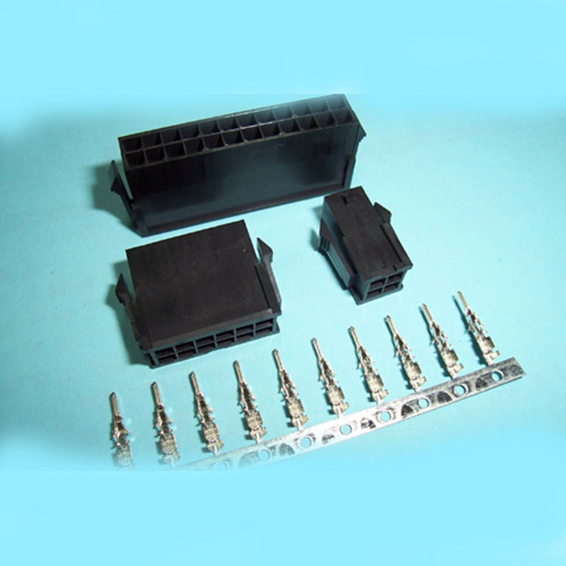 """0.118""""(3.0mm) Ptich Double Row Housing and Terminal"""