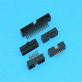 "0.079""(2.00mm) Pitch Dual Row Box Header - DIP type"